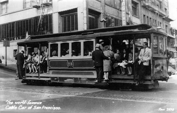San Francisco Cable Cars Vintage